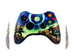 Halo 3 collectors controller wireless 1/2 (<a href='http://www.playright.dk/samler/ret-samlerobjektbillede/425'>Ret</a>)