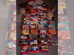 Min Super Nintendo samling 3/10