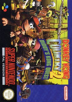 Donkey Kong Country 2: Diddy's Kong Quest (EU)