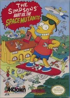 Simpsons, The: Bart Vs. The Space Mutants (US)