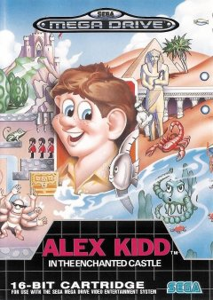 Alex Kidd In The Enchanted Castle (EU)
