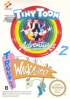 Tiny Toon Adventures 2: Trouble In Wacky Land (EU)