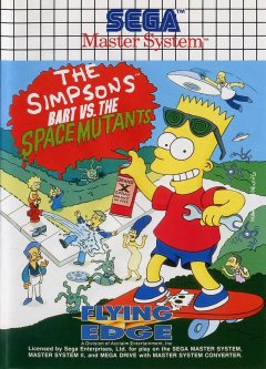 Simpsons, The: Bart Vs. The Space Mutants (EU)