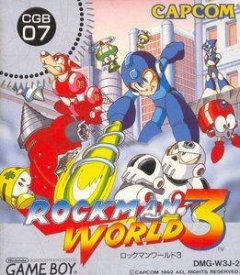 Mega Man III (1992) (JAP)
