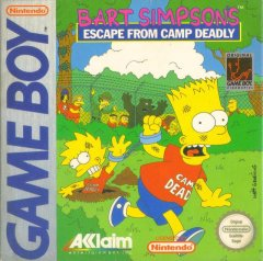 Bart Simpson's Escape From Camp Deadly (EU)