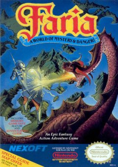 Faria: A World Of Mystery & Danger (US)