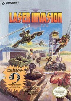 Laser Invasion (US)