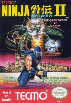 Ninja Gaiden II: The Dark Sword Of Chaos (US)