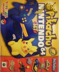 Nintendo 64 [Pikachu Blue] (US)