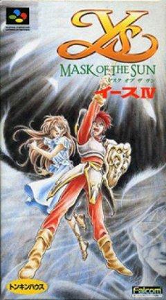 Ys IV: Mask Of The Sun (JAP)