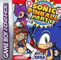 Sonic Pinball Party (EU)