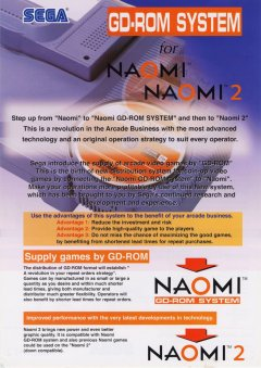 Naomi GD-Rom System