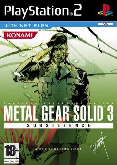 Metal Gear Solid 3: Subsistence (EU)