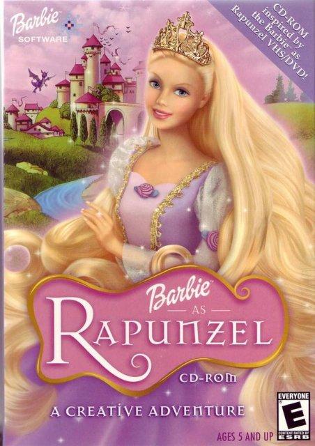barbie rapunzel dansk