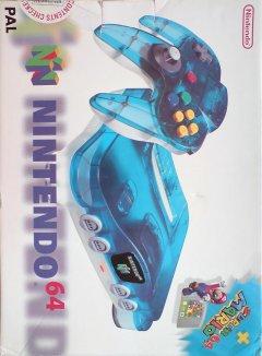 Nintendo 64 [Clear Blue]