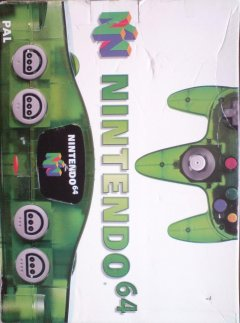 Nintendo 64 [Jungle Green] (EU)