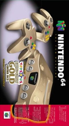 Nintendo 64 [Gold]