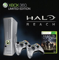 Xbox 360 S [Halo: Reach Limited Edition]