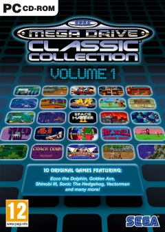 SEGA MegaDrive Classic Collection: Volume 1 (EU)
