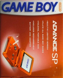 Game Boy Advance SP [Flame Red] (US)