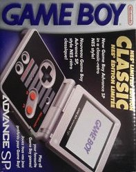 Game Boy Advance SP [Classic NES Edition] (US)