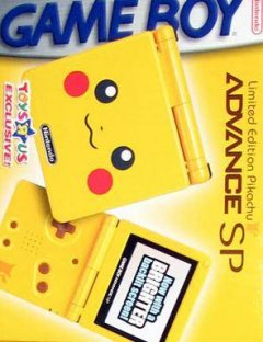 Game Boy Advance SP [Pikachu Edition] (US)