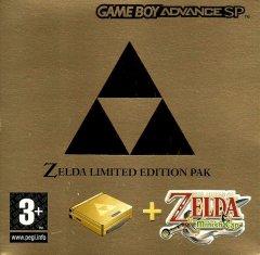 Game Boy Advance SP [Zelda Edition] (EU)