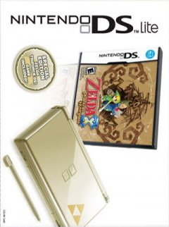 Nintendo DS Lite [Gold Zelda Edition] (US)
