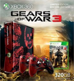 Xbox 360 S [320 GB Gears Of War 3 Limited Edition] (US)