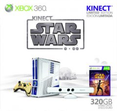 Xbox 360 S [320 GB Kinect Star Wars Limited Edition] (US)