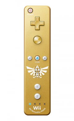 Wii Remote Plus [Gold]
