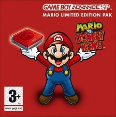 Game Boy Advance SP [Mario Limited Edition] (EU)