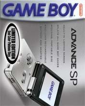 Game Boy Advance SP [Platinum / Onyx] (US)