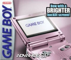 Game Boy Advance SP [Pearl Pink] (US)