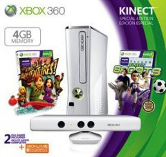 Xbox 360 S [4 GB Kinect Special Edition White] (US)