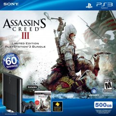 PS3 Super Slim [Assassin's Creed III Limited Edition Bundle] (US)