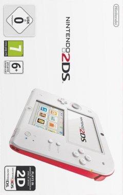 Nintendo 2DS [White / Red] (EU)