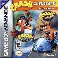 Crash Superpack: Crash Bandicoot 2: N-Tranced / Crash Nitro Kart (US)