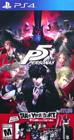 Persona 5 [Take Your Heart Premium Edition] (US)