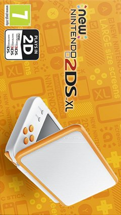 New Nintendo 2DS XL [White / Orange] (EU)