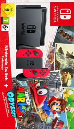 Switch [Super Mario Odyssey Bundle] (EU)