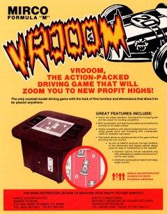 Formula M Vrooom