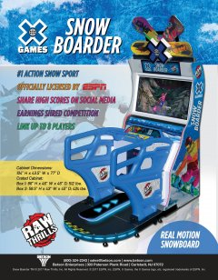 X-Games Snow Boarder (US)