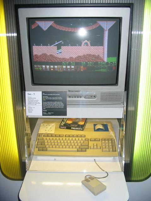 Amiga (Lemmings). 14/32