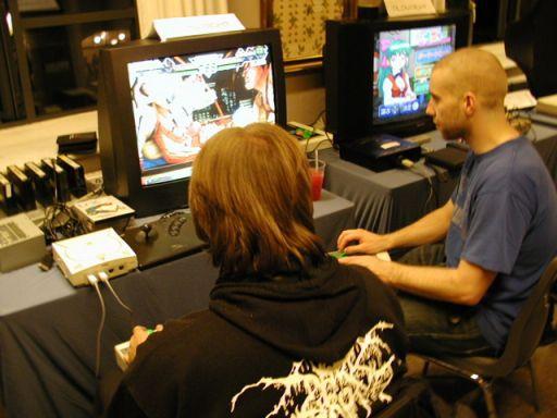 Le Roof og dRxL er rykket over på Dreamcast, men spiller stadig 2d-fightere. 22/100