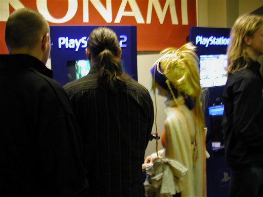 Desværre det bedste billede af en cosplayer som Rikku fra Final Fantasy X/X-2. 29/100