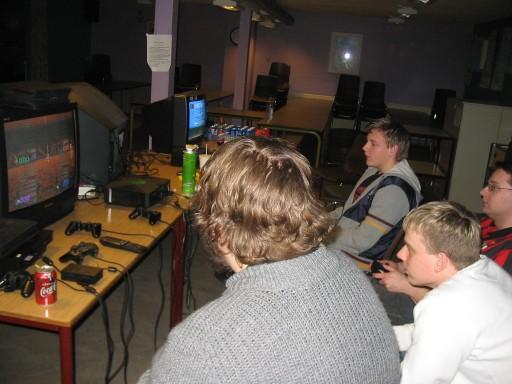 Der blev også denne gang spillet Shrek Super Party. 5/17