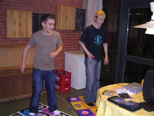 Wagner og Knight Keen danser. 14/22