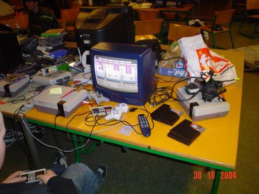 Dracula Junior spiller NES. 4/23