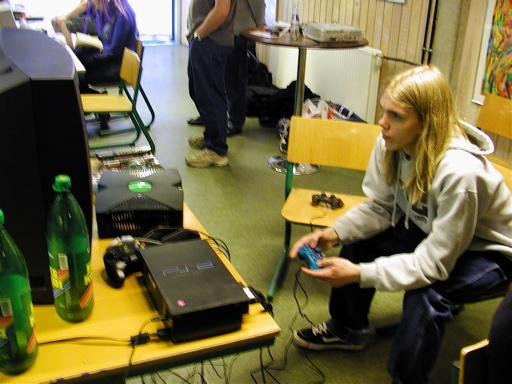 Krans.K spiller ukendt PS2-spil. 33/46